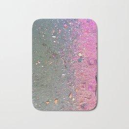 Chalk Dust Confetti Pink Crush Bath Mat