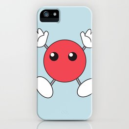 Shoyo & Ushijima's Red Blob Shirt DesignRed Blob Shirt Design - Haikyuu iPhone Case