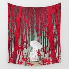 Yuki- onna Wall Tapestry