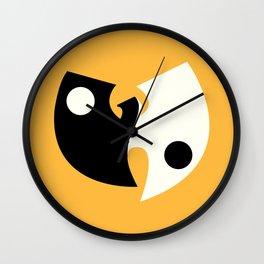Wu Tang Yin Yang Wall Clock