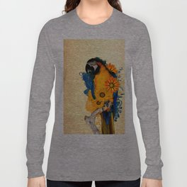 Colorful Parrot Long Sleeve T-shirt