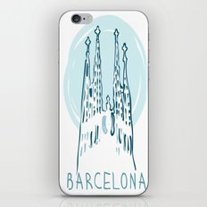 Barcelona 01 iPhone & iPod Skin