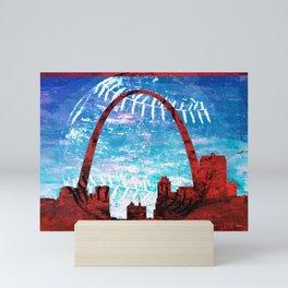 St. Louis baseball Mini Art Print