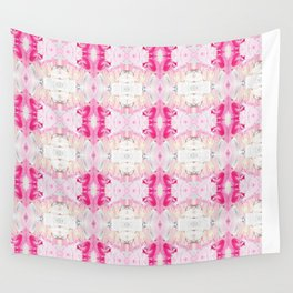 Minty Rose (Abstract Painting) Wall Tapestry