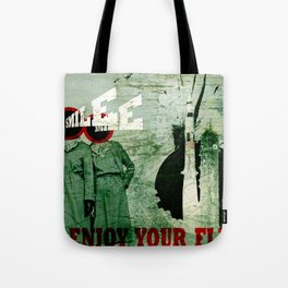 Smile and Enjoy Your Flight Tote Bag