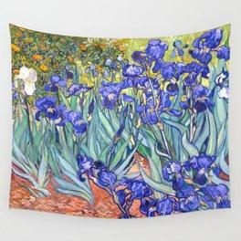 Vincent Van Gogh Irises Wall Tapestry