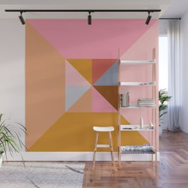 Shape and Color Study 324 Wall Mural