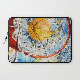 Basketball Art Laptop Sleeve
