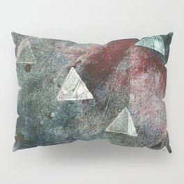 Dark Triangles Pillow Sham