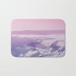 pastel mountainscape #society6 #decor #buyart Bath Mat