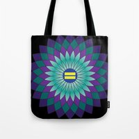 equality Tote Bags featuring Equality by Katherine Marshall