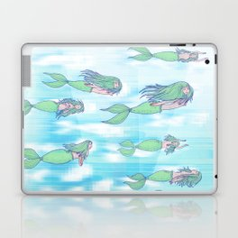 Mermaids dream by day Laptop & iPad Skin