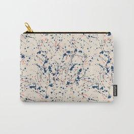 Cream Splatter Carry-All Pouch
