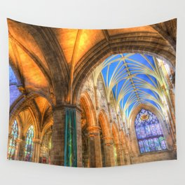 The Cathedral Atmosphere Wall Tapestry