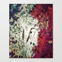 To Camouflage in Happiness #SWIM Canvas Print