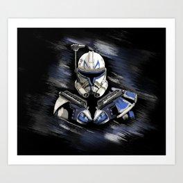 Captain REX Art Print