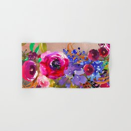 Flowers Bouquet 87 Hand & Bath Towel
