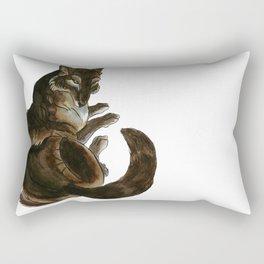 She-Wolf Rectangular Pillow