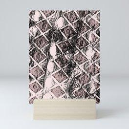 Dirty Rhombus Mini Art Print