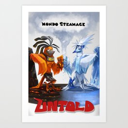 Mondo Steamage Art Print