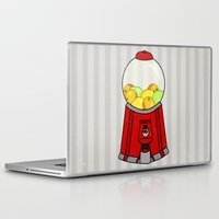 gumball Laptop & iPad Skins featuring Gumball Machine. by Bedelia June