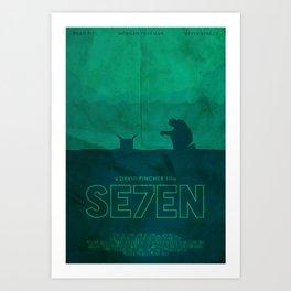 The Box - Se7en Poster Art Print