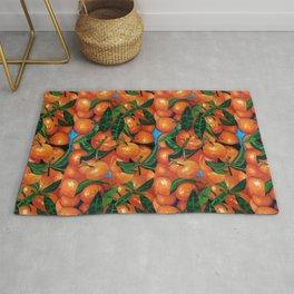 Florida Oranges Rug
