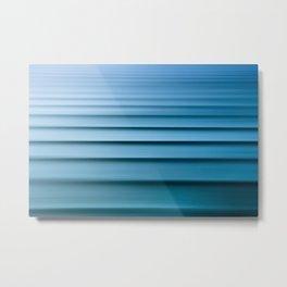 Swell Lines Metal Print