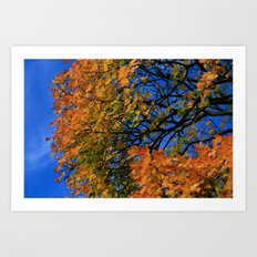 The Burning Tree Art Print