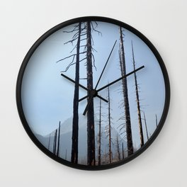 Wildfire Renewal Wall Clock