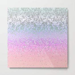 Glitter Star Dust G251 Metal Print