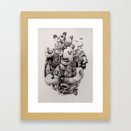 doodles Framed Art Print