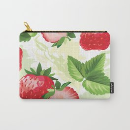Sweet Strawberries Carry-All Pouch