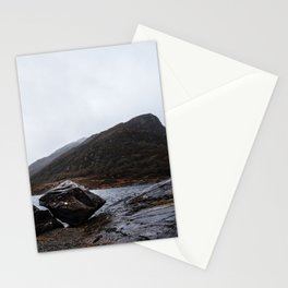 Misty Irish lake Stationery Cards