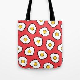 Fried Eggs Pattern Tote Bag