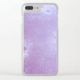 Bubblebath Clear iPhone Case