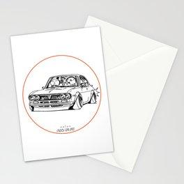 Crazy Car Art 0187 Stationery Cards
