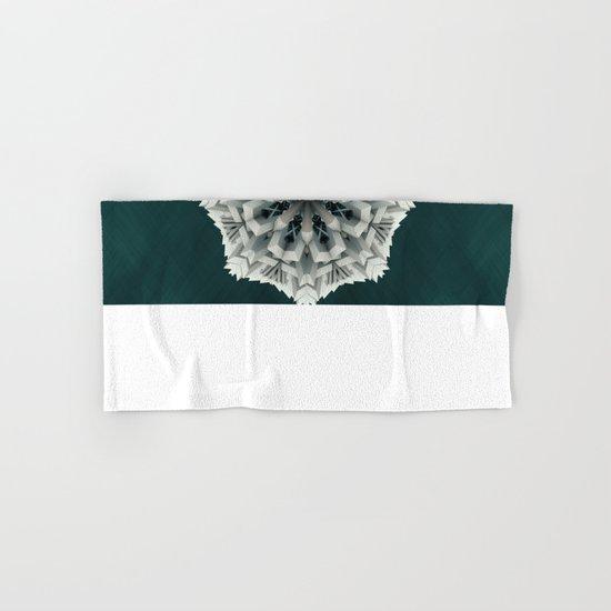 Winter Flakes Hand & Bath Towel