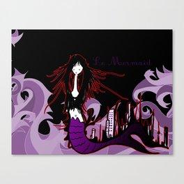 Le Mermaid Canvas Print