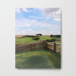 Scottish countryside Metal Print