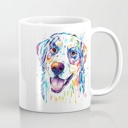 Bernese Mountain Dog Watercolor Painting Coffee Mug