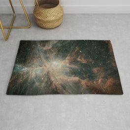 Orion Nebula Stars Rug