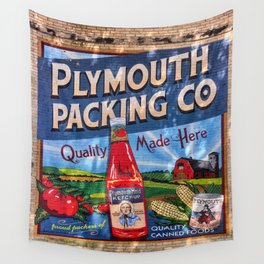 Plymouth Mural Wall Tapestry