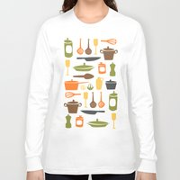 kitchen Long Sleeve T-shirts featuring Kitchen by Bellwheel