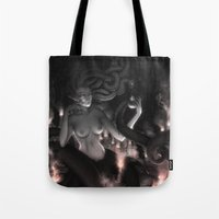 medusa Tote Bags featuring Medusa by Edge