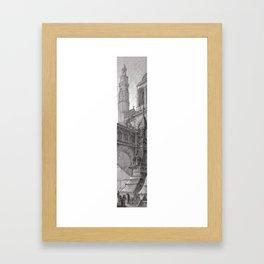 Tower 3 Framed Art Print