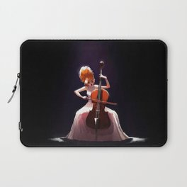 The Cello Player Laptop Sleeve