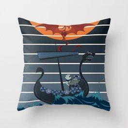 The Viking Throw Pillow