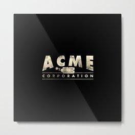 Acme Corporation Metal Print