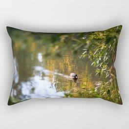 Duck pond Rectangular Pillow